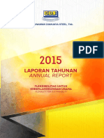 Annual Report PT Gunawan Dianjaya Steel Tbk 2015
