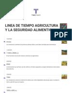 Linea de Tiempo de la Agricultura