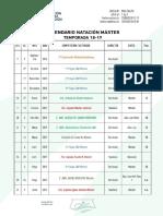 Calendario Master 18-19