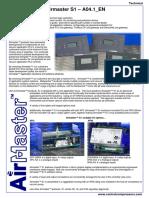 Airmaster_S1(Controller_Software for Positive Displacement Compressor) Factsheet