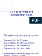 How to Connect and Configuration Alarm Ver 2