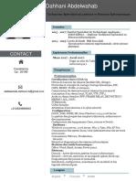 CV Dahhani Abdelwahab