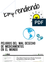 Emprendiendo problematica de residuos medicamentos en el mundo y argentina