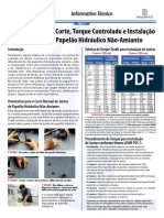 Informativo Tecnico Nro 32 - Corte, Torque e Instalacao de Juntas de PH NA