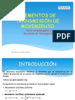 Elementos de Transmisión de Movimiento