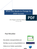 What EDA Needs to Change by 2020 Hogan Mclellan