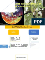 Cambio Climatico y Sus Implicancias en La Agricultura