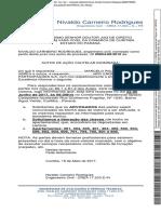 Cautelar Inominada - 0066824-68.2010.8.16.0001 - Petição Do Engenheiro