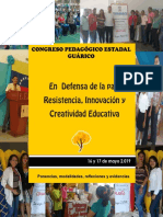 Congreso Pedagógico Estadal Guárico 2019