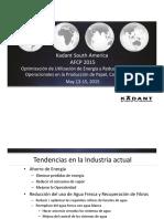 Kadant Optimización de Utilización de Energía y Reducción de Costos Operacionales en La Producción de Papel, Cartón y Tissue DIA 1AM 6- Kadant