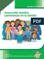 Módulo 3 - Mejorando Nuestra Convivencia en La Familia