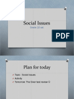Social Issues POWERPOINT_class10
