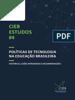 CIEB Estudos 4 Politicas de Tecnologia Na Educacao Brasileira
