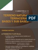 3 - Terreno Natural
