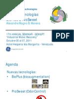 WWT Margarita ESP Final Nuevas Tecnologias BioPlus e OdorControl Out 2011 Venezuela