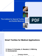 TITV and Textile Solutions Medicine Handout