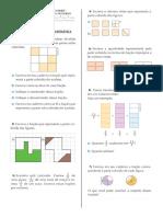 Atividade de Matemática - 6º Ano - Fracões