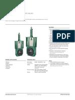 Valvula Clarkson Technical Data Sheets Serie KGF VCTDS 00110 En
