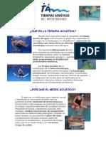 Terapias Acuaticas Del Mediterraneo