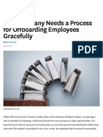 Your Company Needs a Process for Offboarding Employees Gracefully