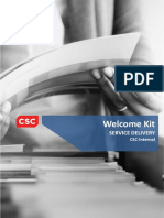 Service Delivery Internal –Welcome Kit