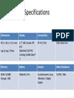 Juxt Pro Specifications