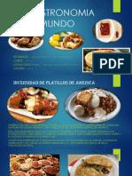 Gastronomia en el mundo