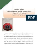 Trabajo de Investigacion El Estado de Las Prisiones en Inglaterra y Gales. Morella Villasana 13045890
