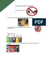 15 Maneras Sencillas de Reducir La Contaminación