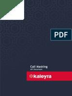 Call Masking - API Document.docx