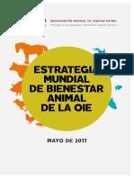Estrategia mundial del bienestar animal de la OIE