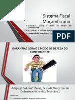 Sistema Fiscal Mocambicano Garantias Dos Contribuintes