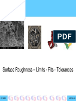 9SurfaceRoughness Limits Fits and Tolerances