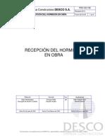 PRO OG 108 Recepción de Hormigón 2