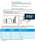 Insulation Dielectric Test of Transformer.docx
