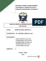 DELITOS CONTRA LA  ADMNITRACION PUBLICA 384 388.docx
