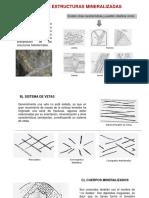 Tipos de Estructuras Mineralizadas