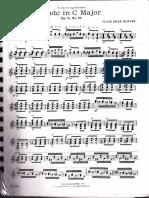 Etude in C Major