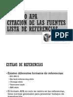 Formato APA Referencias