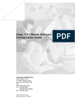 Cisco 1751 Configuration Guide