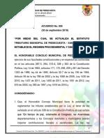 ACUERDO 009 de 2018 ESTATUTO TRIBUTARIO PIEDECUESTA.pdf