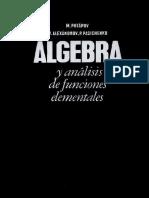 Álgebra y Análisis de Funciones Elementales - M. Potápov