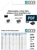 Linear Opto Isolators