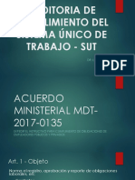 Acuerdo Ministerial Mdt 2017 0135