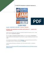 Baixar a Apostila TJ AM 2019 Assistente Judiciário PDF