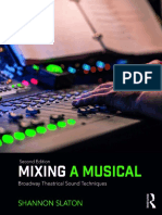 Mixing  a Musical Parte 1