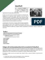 Escuela de Fráncfort - Wikipedia, La Enciclopedia Libre