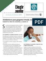 Antibióticos para goteo nasal