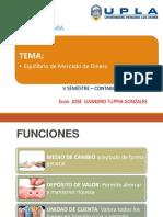 MACROECONOMIA EQUILIBRIO DEL MERCADO DE DINERO 2018-II.pptx