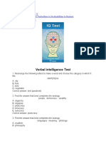 ISSB Verbal and Nonverbal Intelligence Test-1